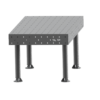 SupR®  Hegesztőasztal 2000 x 1000 x 8 mm d 16 rendszer furattal, 4 db lábbal