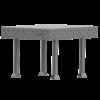 SupR®  Hegesztőasztal 2000 x 600 x 8 mm d 16 rendszer furattal, 4 db lábbal