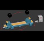 SupR® 20 tonnás (2x10T) tartály és csőforgató