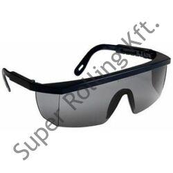 Ecolux védőszemüveg kék keret, füstszínű lencse
