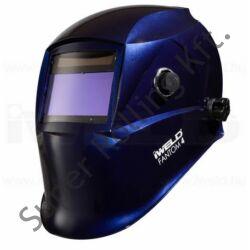 IWELD FANTOM4 XL Aut. heg. fejpajzs (kék-metál)