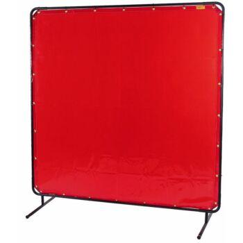 WELDAS LAVAshield Hegesztőfüggöny 1,74 x 1,74 piros -keret nélkül