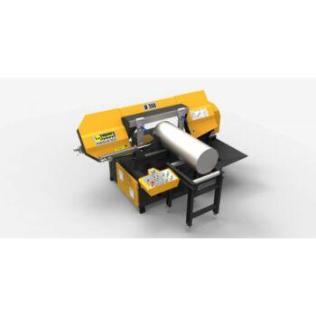 KESMAK KMY 2DG 350 félautomata szalagfűrészgép +2db 60cm-es görgős asztal