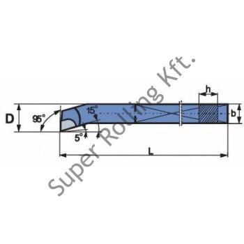 Furatkés zsák, forrasztottlapkás, ISO9, P30J 16x16