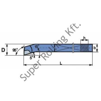 Furatkés zsák, forrasztottlapkás, ISO9, P30J 10x10