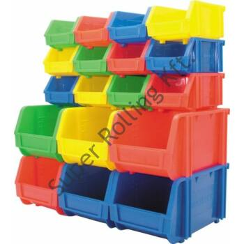 Matlock műanyag tárolódoboz   Méret: 425x280x184 mm