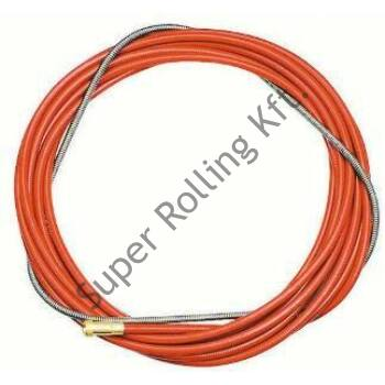 Huzalvezető spirál 1,0-1,2 mm - 4m piros