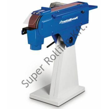 Metallkraft Fémipari szalagcsiszológép MBSM 75-200-2 Nagy használati értékű fémipari szalagcsiszológépek ipari és kisipari célra
