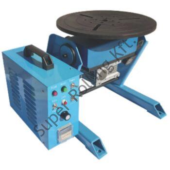 SupR® 50 Hegesztő forgató/pozícionáló berendezés 50 kg