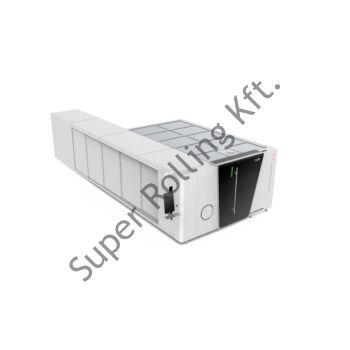 BODOR P3015T6 teljes burkolattal, kombinált CNC fiber lézervágó, 3.000W IPG, 6m száladagoló
