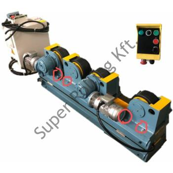 SupR® 1 tonnás (2x0,5T) tartályforgató