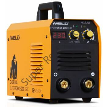 IWELD GORILLA SUPERFORCE 230 (215A-es Heg. inv.)
