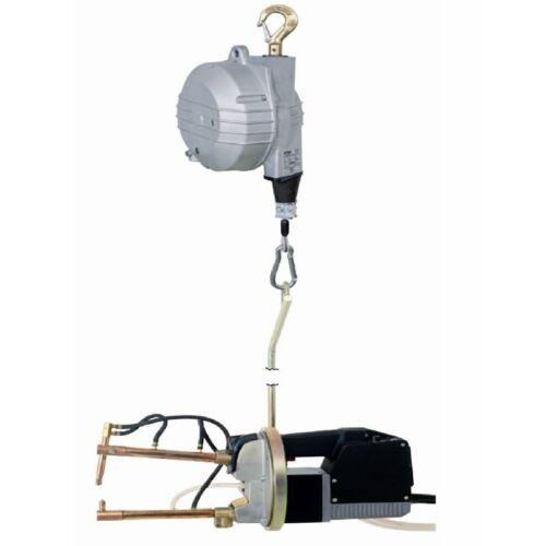 TECNA giroszkópos, pneumatikus, vízhűtéses, ponthegesztőgép