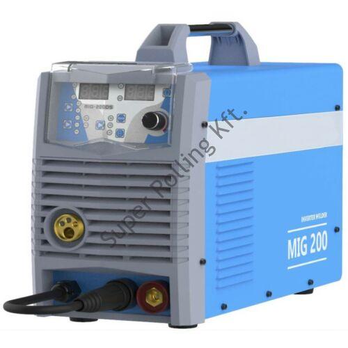 SupR MIG 200 Synergic inverteres hegesztőgép 5kg hordozható